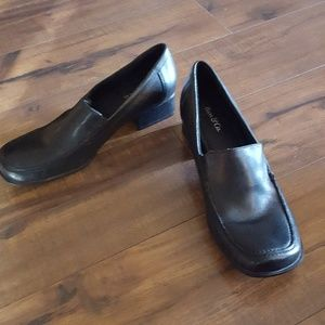 Bass & Co. - Black Leather Loafers